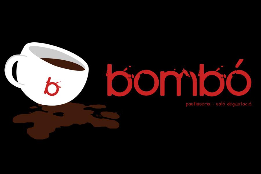 Logotipo Bombó :: pastelería salón degustación