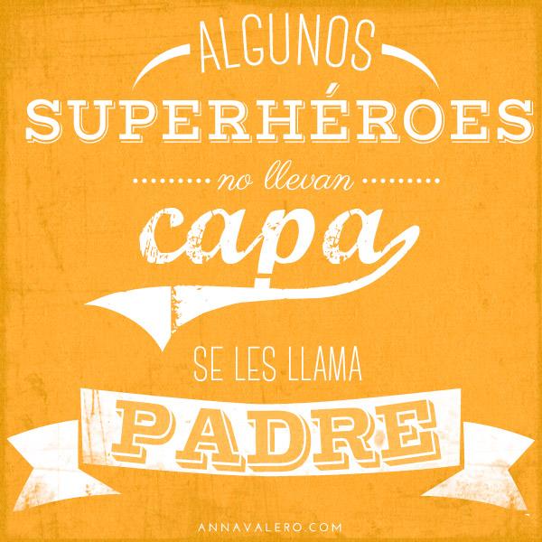 cartel dia del padre