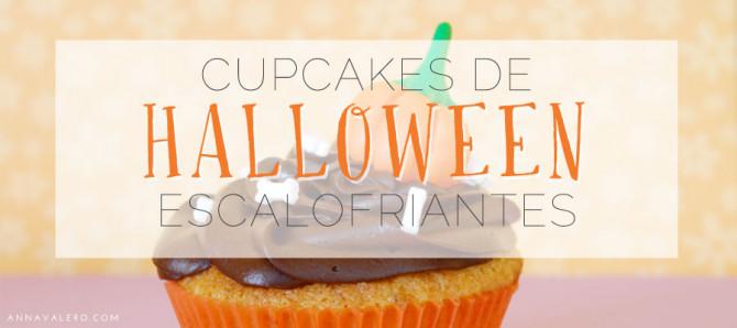 Cupcakes de Halloween escalofriantes