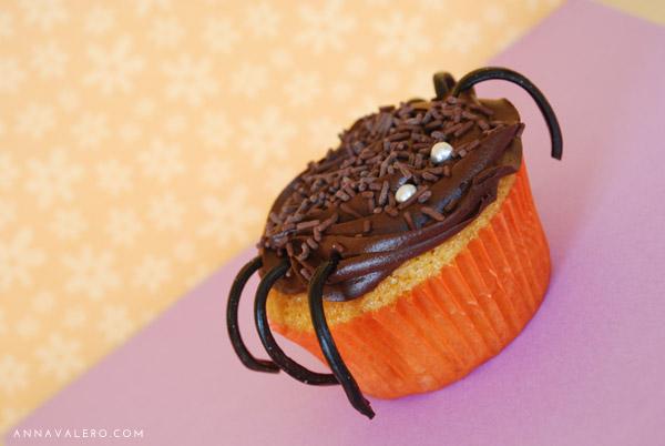 Cupcakes Halloween Arana