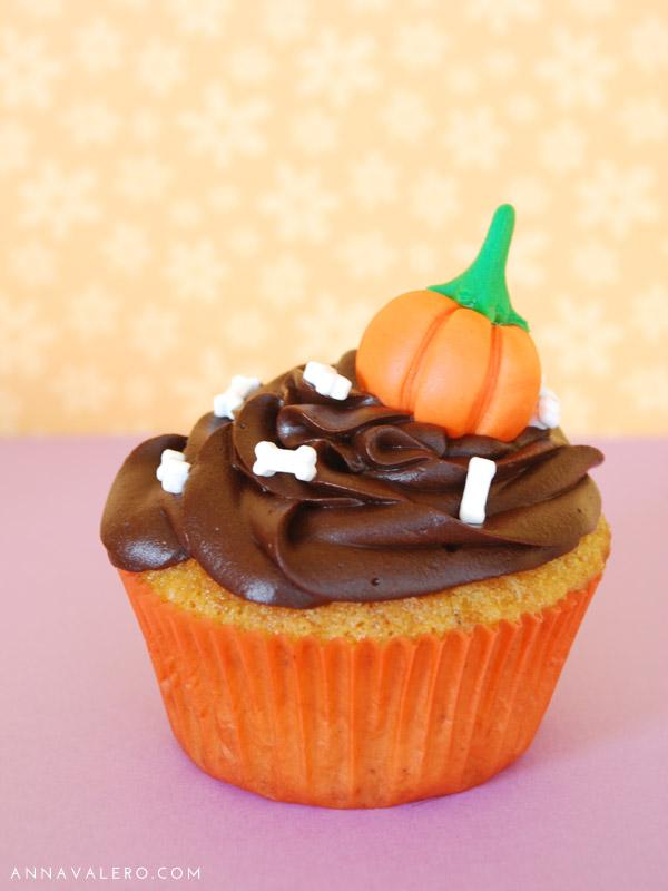 Cupcakes Halloween Calabaza