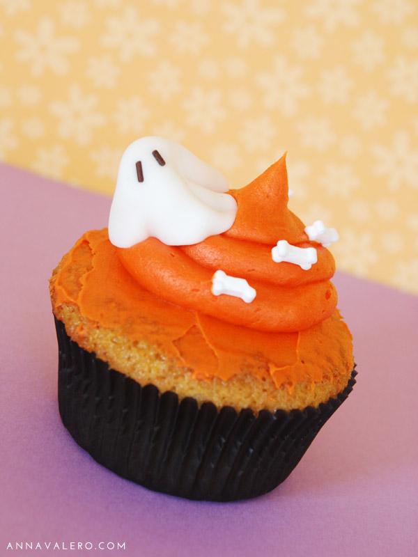 Cupcakes Halloween Fantasma