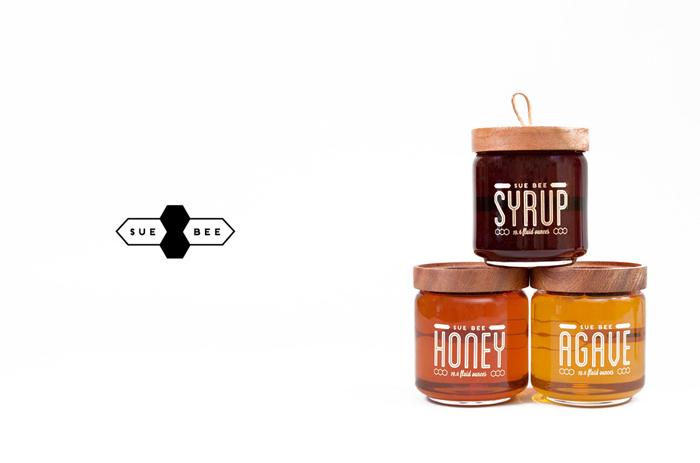 packaging miel sue bee