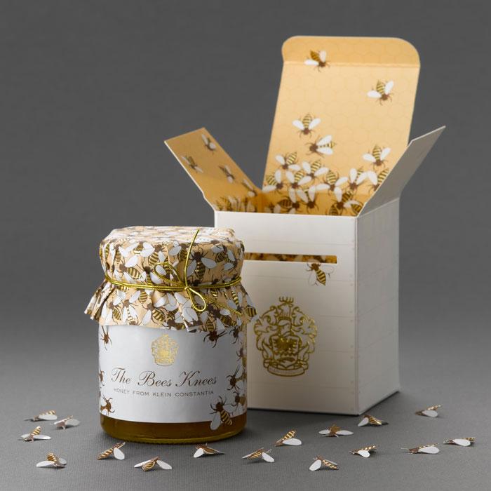ejemplos packaging miel bees knees