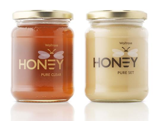 packaging para miel waitrose
