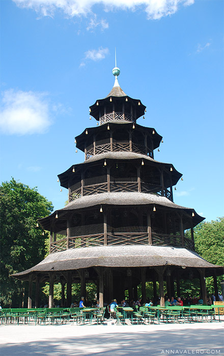 Pagoda china. English Garten (Munich)