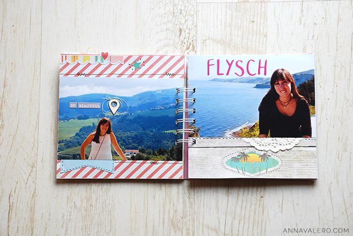 album de viaje scrapbooking