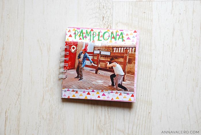 scrapbooking album viaje