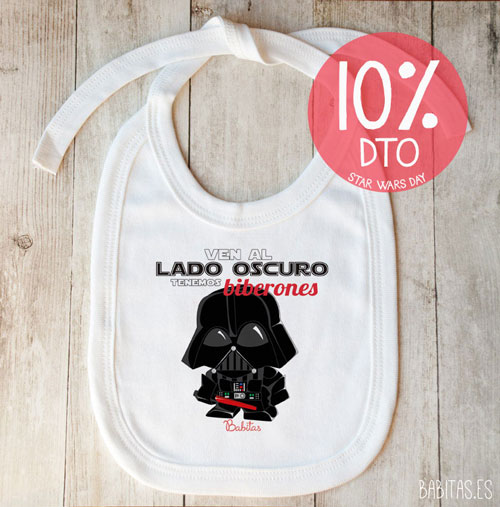babero-star-wars