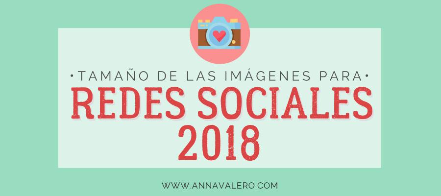 Tamaño de las Imágenes para Redes Sociales 2018