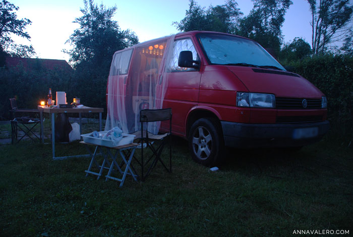 ruta en furgoneta camping holanda
