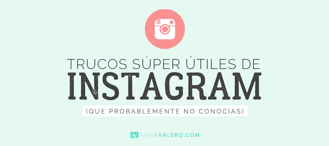 2 trucos súper útiles de Instagram que no conocías