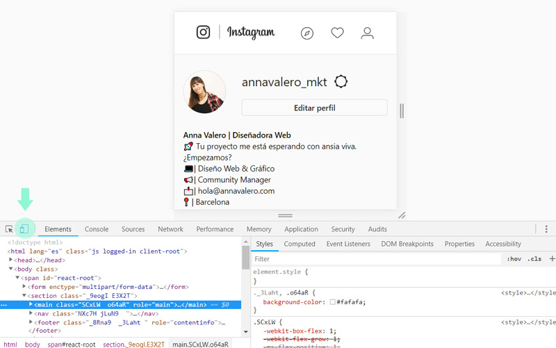 como subir fotos instagram ordenador