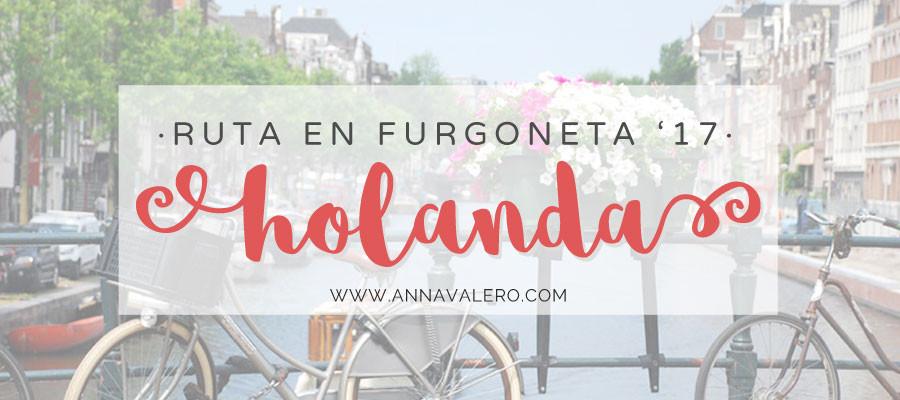 Ruta en Furgoneta – Holanda