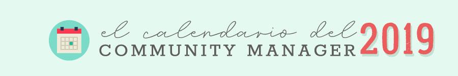 Descargar Calendario Community Manager 2019