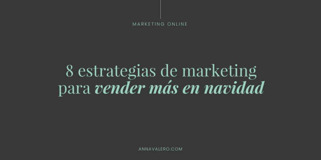 estrategias marketing online navidad