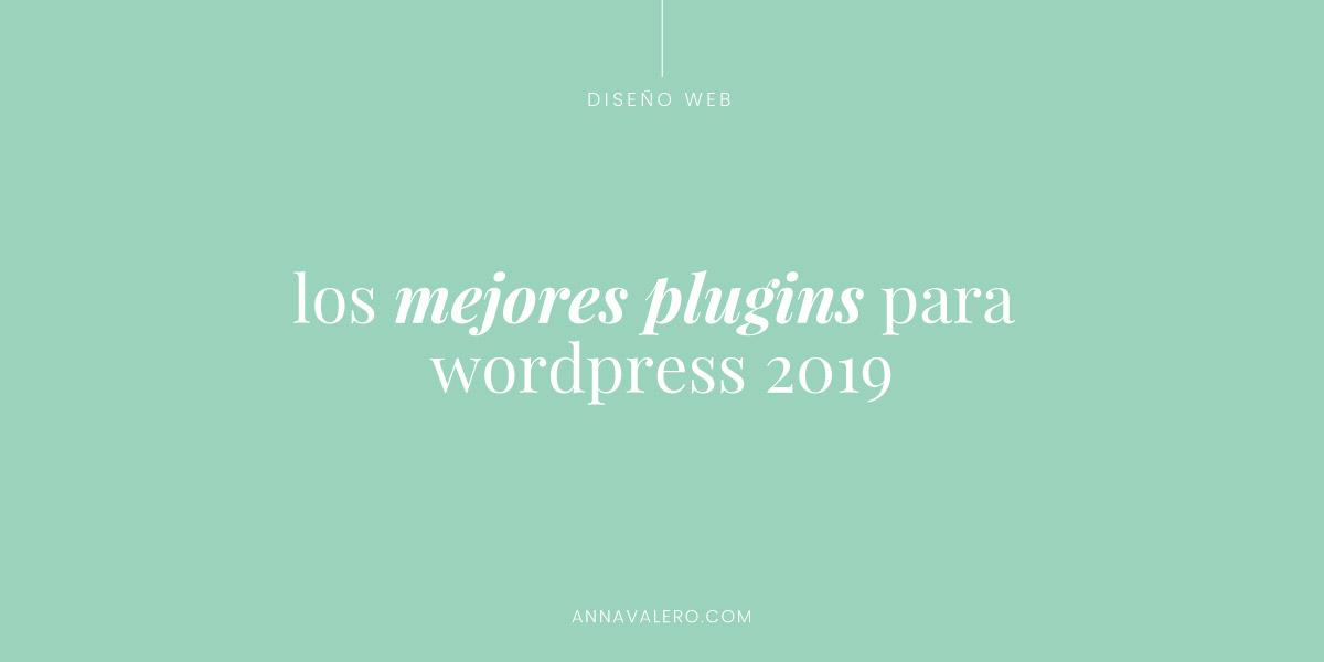 Los mejores plugins de WordPress 2019